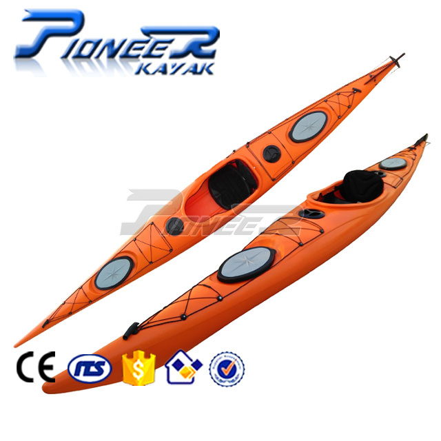Plastic Sit In Touring Sea Kayak With Rudder Control - Buy Sea Kayak,Sit In  Kayak,Plastic Touring Sea Kayak Product on Alibaba com