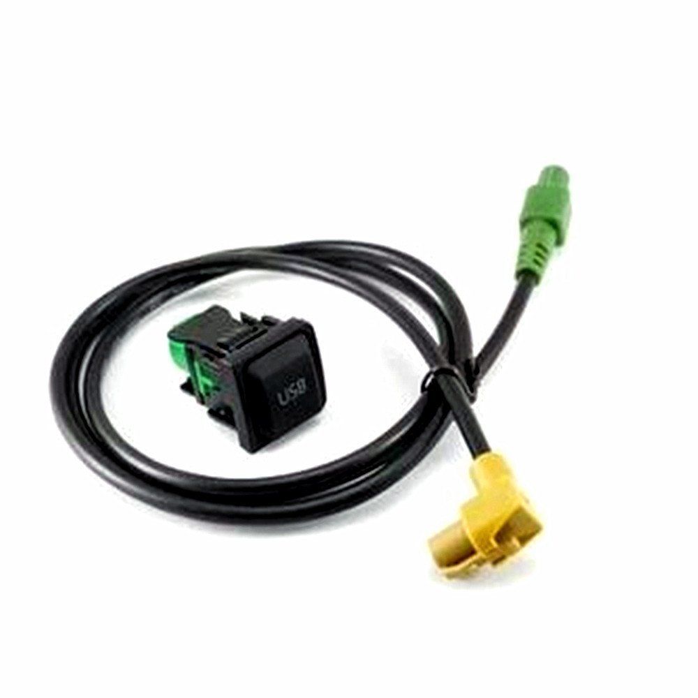 Buy BoCID USB Switch Socket & Cable For VW Jetta Rabbit Golf GTI MK5