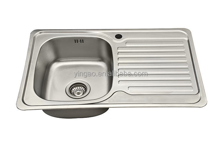304 stainless steel single bowl laundry sink portable sink
