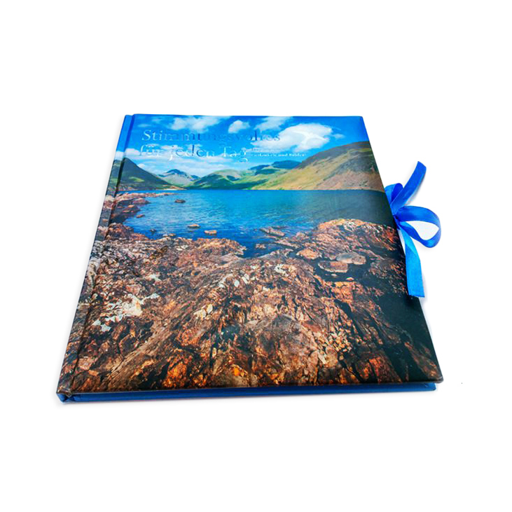Case bound offset wedding photo book, wedding guest book printing