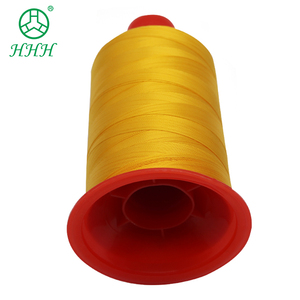 Polyester high tenacity thread embroidery machine thread gold color