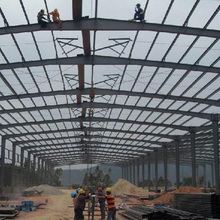 Warehouse Metal Building Frame Steel Structure Workshop