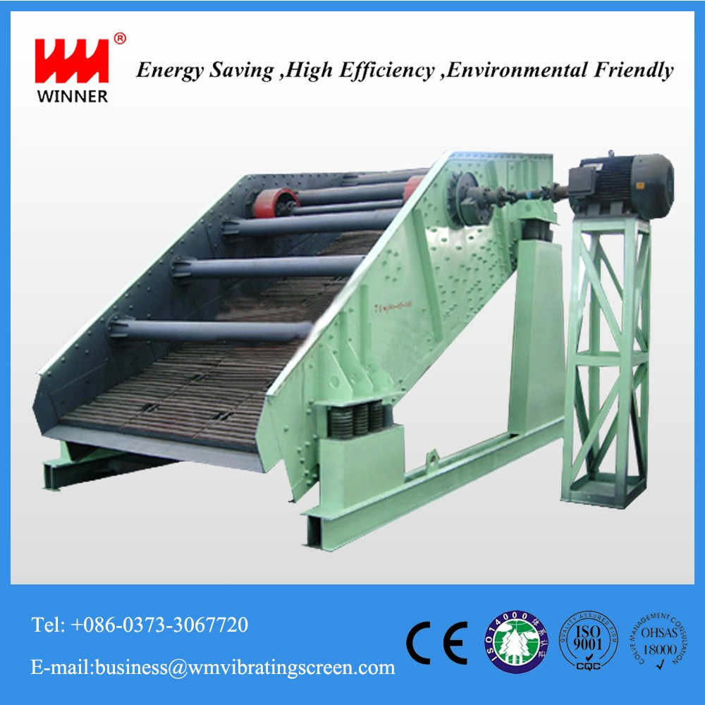 Efficient sorting double layers export rotary YK circular vibrating screen with less wearing part
