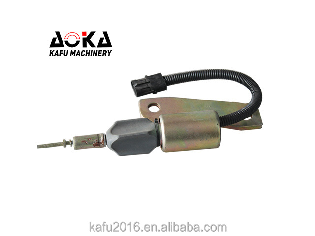 Excavator Parts 24V Shut Down Solenoid 3991625
