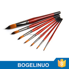 3225 Bergino professional synthetic artist painting brush manufacturer