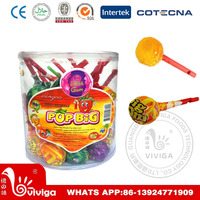 POP Assorted Fruit Whistle Lollipop
