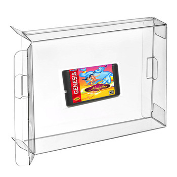 Clear Cartridge Case Cover Sleeve Shell Protector For Gba Gbc Plastic Box -  Buy Sleeve Shell Protector,Game Boy Box Protectors,Gbc Clear Plastic Case