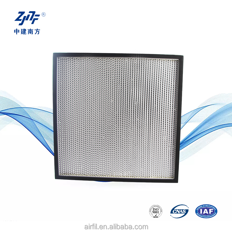 Mini Lipit Panel H13 Hepa ahu harga filter