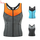 New Style and highest quality sport reversible corset men neoprene vest