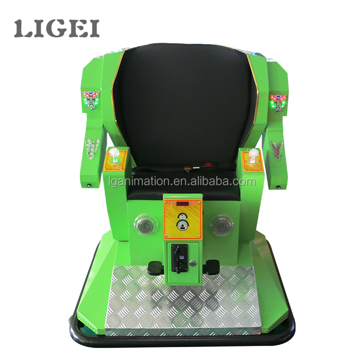 Factory price coin operated kids robot simulator games electronic game machine for kids