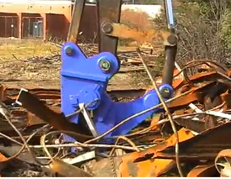 Excavator  demolition shear Mechanical shears