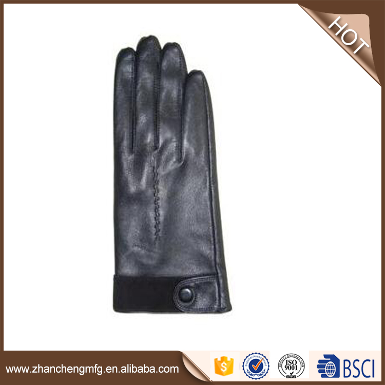 goat skin leather Hot selling leather gloves for wholesales