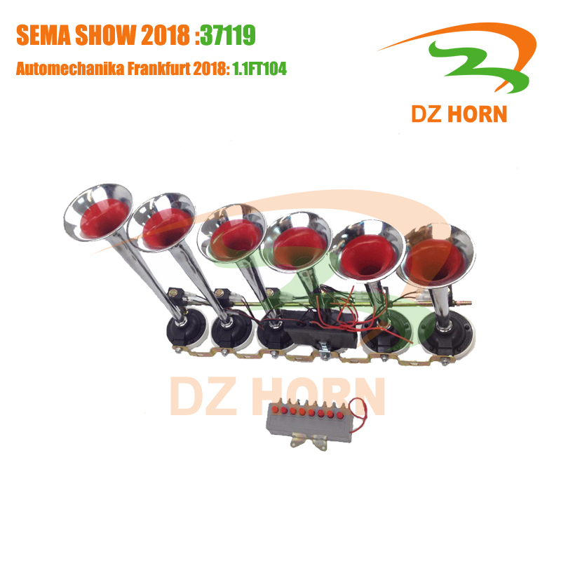 Musical 6 Pipes Air Horn Truck Bus 8 Melody Music Air Horn Pakistan - Buy  Melody Air Horn,Air Horn Truck,Air Horn Pakistan Product on Alibaba com