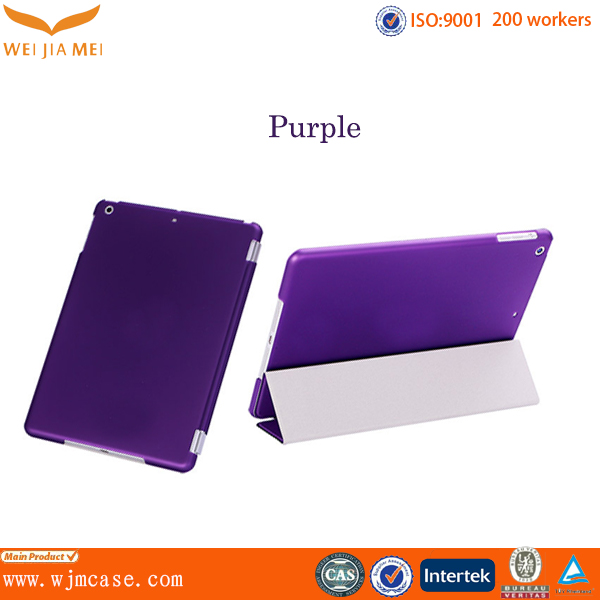 Muti-color Leather case for Ipad 4 with custom logo