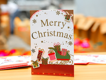 christmas greeting cards with envelop paper printing for gifts - Cheapest Christmas Cards