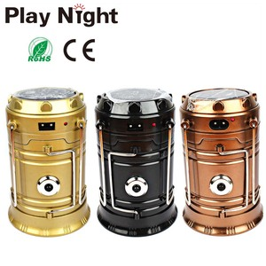 Li Battery COB Solar Lantern Mobil Phone Charger, Solar Camping Light,Rechargeable Led Camping Light