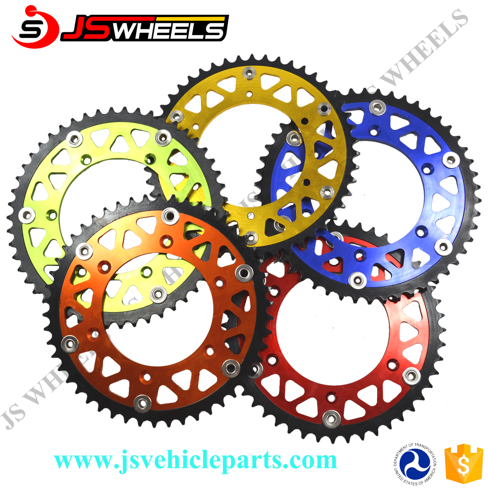 KXF 250/KXF 450 CNC 51Teeth Motocross Aluminum Sprocket for motorcycle 520 chain sprocket