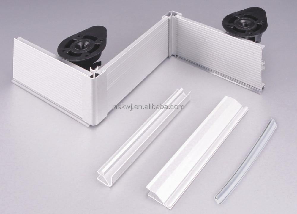 Z calo de aluminio mueble cocina rodapi h100 con cubierta for Zocalos de aluminio para muebles de cocina