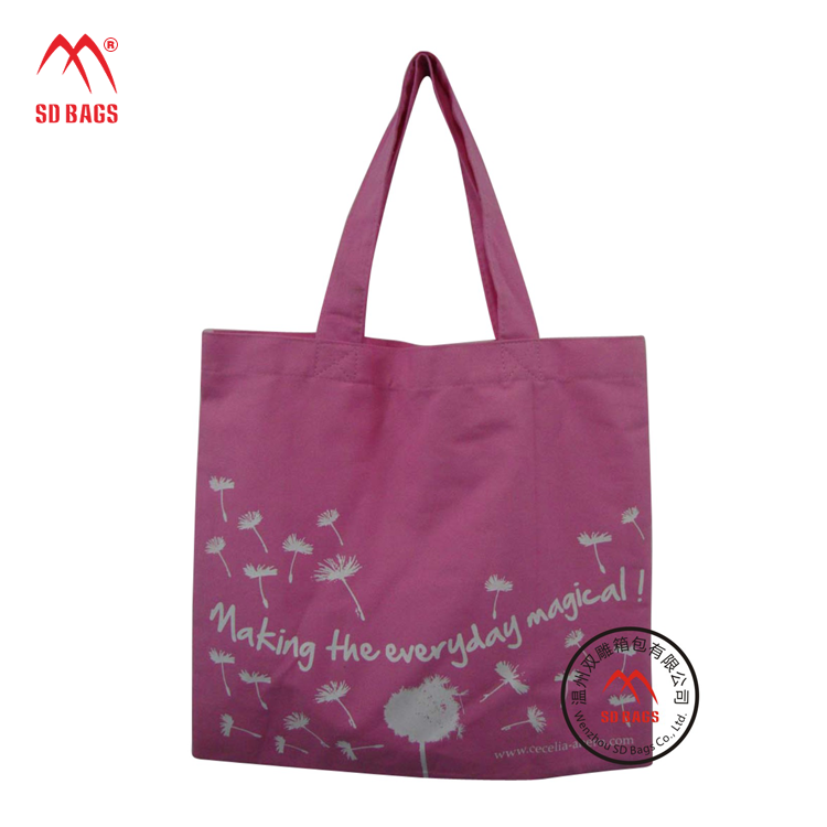 2015 New products blank canvas tote bag