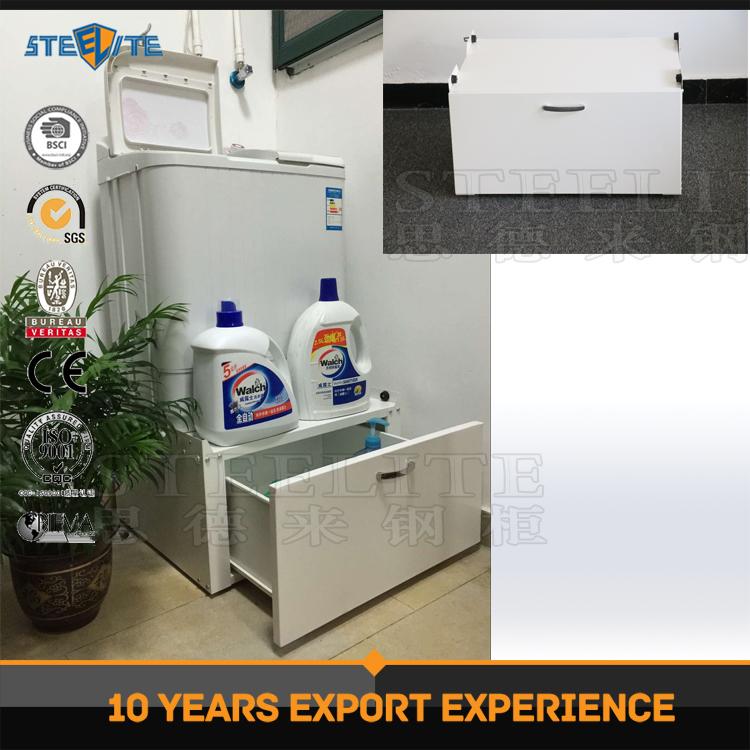 Derribar muebles de ba o pedestal lavadora lavander a for Gabinete de almacenamiento de bano barato