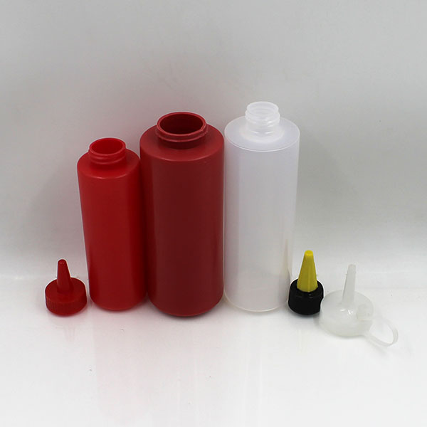 LDPE soft empty different size squeeze mayonnaise plastic dropper bottle
