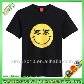 2014 Fashion Cotton Design Your Own Logo 1 Dollar T Shirts