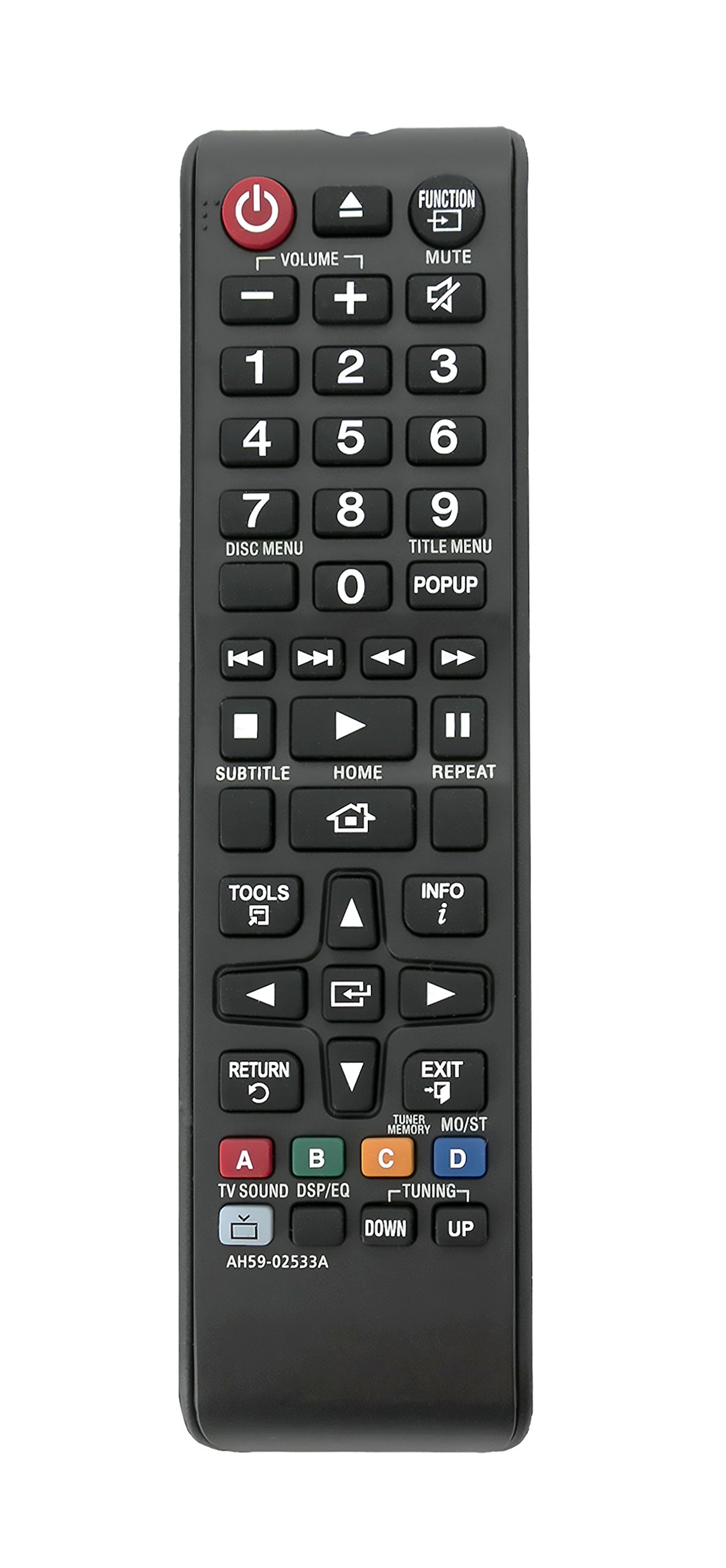 Get Quotations · New AH59-02533A Replace Remote fit for Samsung HT-H4530 HT -H5500W-
