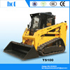 Good loading skid steer loader LUYUE TS100 with cheap price