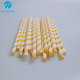 Hotsale recycled diameter 6mm printed paper wrapped straw for drinking