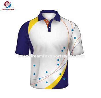 Camiseta Polo Sublimada De Último Diseño,Diseño Para Hombre