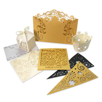 Custom Wedding & Party Decorative Card Laser Cut Card