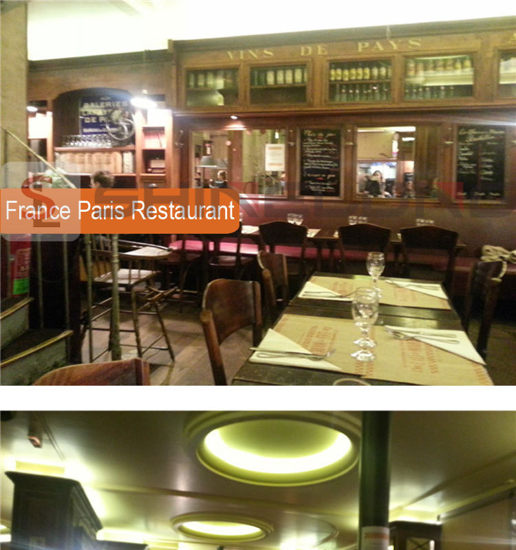 France Paris Restaurant Project By Shinelong