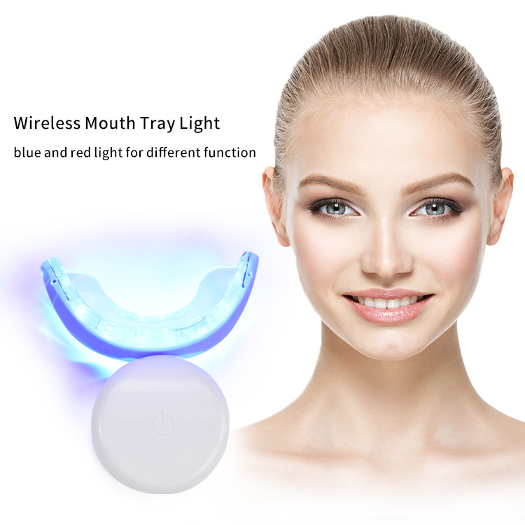 IVISMILE CE Approved Wholesale Private Brand Wireless Rechargeable Led Tooth Whitening Light
