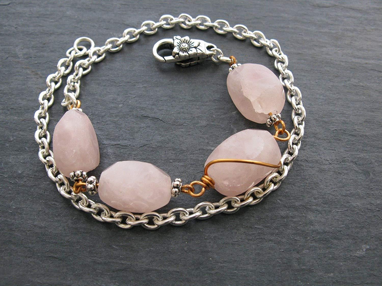 Jewelry & Watches Precise Lepidolite Gemstone 925 Silver Jewelry Adjustable Cuff Easy To Lubricate Fashion Jewelry
