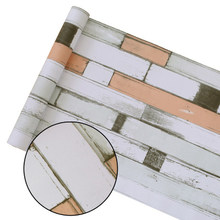 Виниловая самоклеющаяся настенная бумага, ПВХ наклейки на стену, водонепроницаемая кирпичная настенная бумага для гостиной, кухни, ванной, ...(Китай)