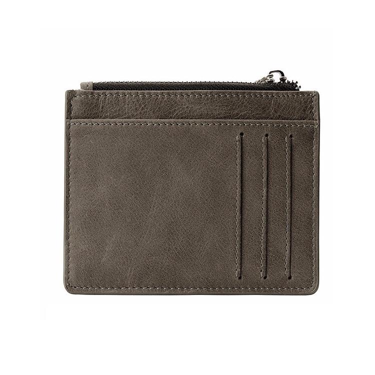 NOVA Mens Couro Bifold Clutch cartão de Crédito/ID Titular do Cartão Bolsa Da Moeda Da Carteira