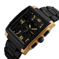 skmei 1274 hot sale digital sport watches men dual time wristwatch