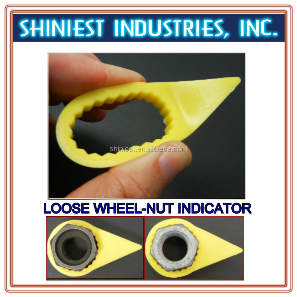 2017 High quality top selling PP loose wheel nut indicator for trucks