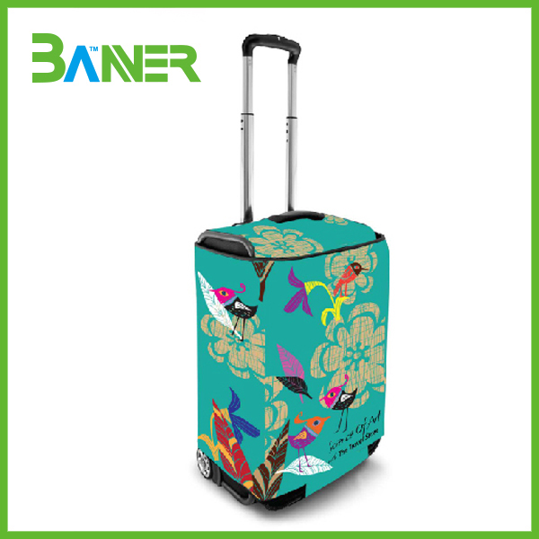 Full Color Printing Travel Bag Cover Suitcase Protecting Covers