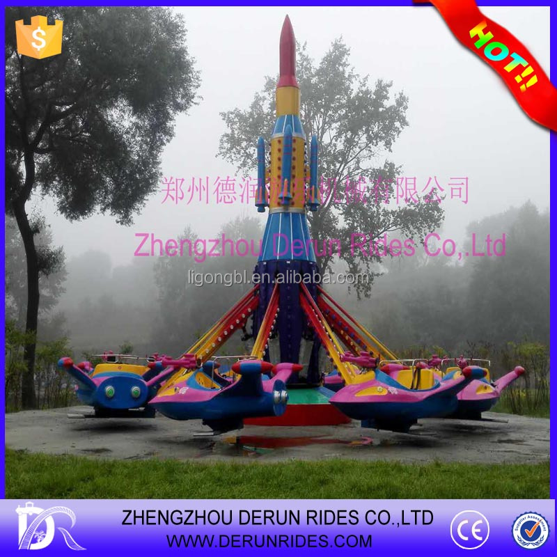 Attractive theme park equipments amusement park rides airplane games and rides