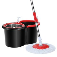 Free Sample Newest Household Cleaning Products Durable Cotton Kentucky Wet Mop With Steel Handle