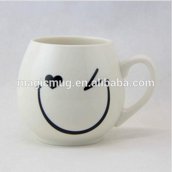 Mugbaby Funny Face Emoji Ceramic Coffee Mug With Lid The
