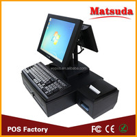 15inch Dual Core Touch screen POS Terminal system payment
