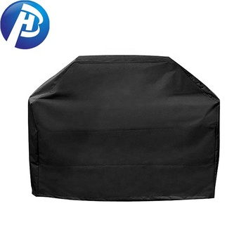 Hot verkoop 600D polyester barbecue kachel cover outdoor bbq waterdichte barbecue grill cover