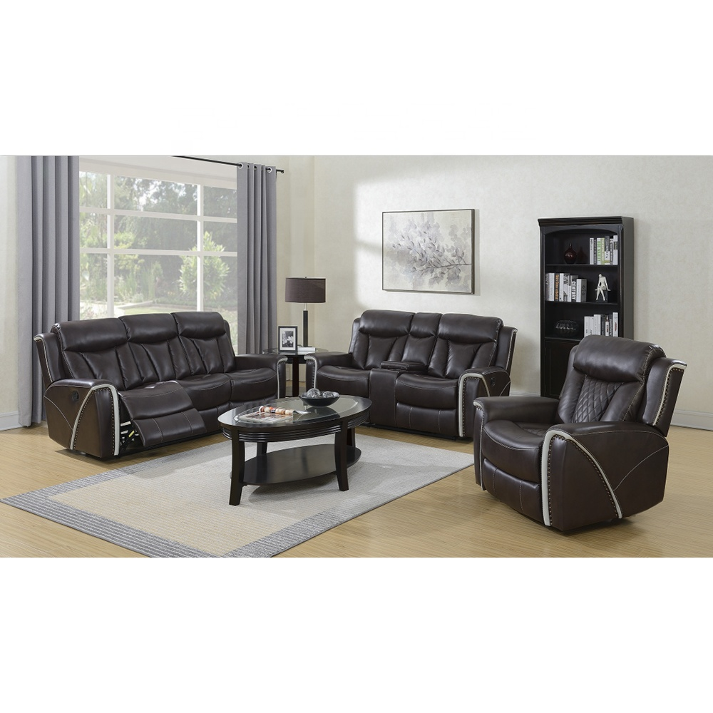 Modern Sectional Leather Sofa Set 7 Seater Living Room Leather Sofa For  Home Theater Recliner Sofa - Buy Sofa Set 7 Seater,Home Theater Recliner ...