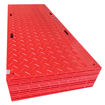 construction plastic boards plastic ground cover sheet ground mats for heavy equipment