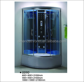 With Colorful Light Luxury Shower Cabin/personal Steam Cabinet ...