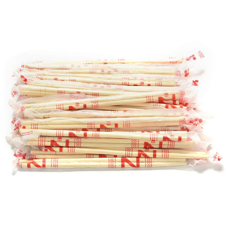 Desirca Chinese chopsticks Disposable Bamboo Wooden Chopsticks 40 Pairs