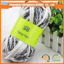 Online shopping knitting yarn china supplier cheapest price best wholesale oeko tex certified tube acrylic hand knitting yarn