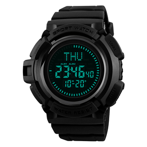 Skemi New Concept 5tam Waterproof Compass Watch Digital In Wristwatch For Men